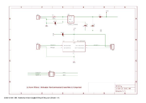 ATtiny schematics