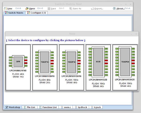 LPC800_switch_matrix_configurator