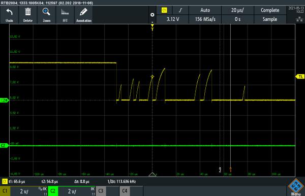 wind sensor bounce